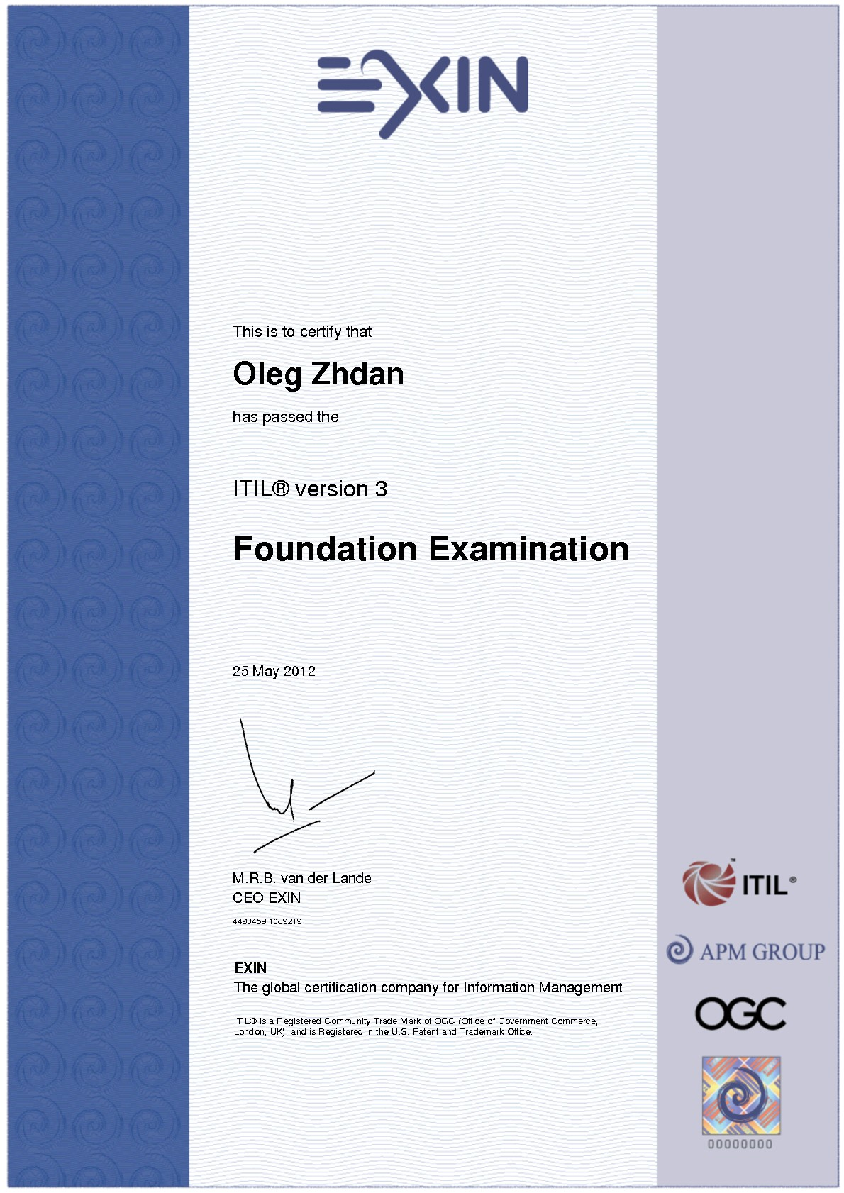 Inspirational image of prince2 certification business cards and resumem from prince2 certification image source zhdan xflitez Images